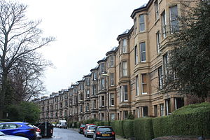 Alfred Daniell - Gillespie Crescent in Edinburgh