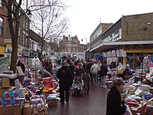 Market in Gillingham High Street
