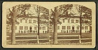 Gilmanton, New Hampshire - Gilmanton Academy c. 1869
