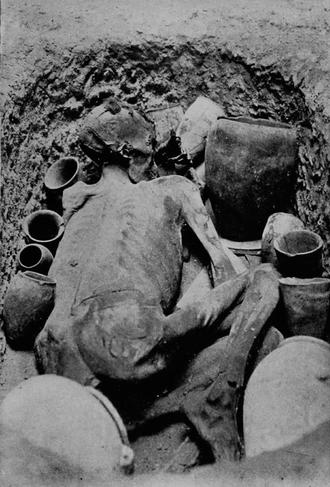 Gebelein predynastic mummies - Image: Ginger (mummy) 1920