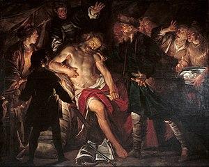 Gioacchino Assereto - Death of Cato