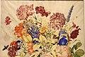 Giovanna garzoni, buffone con garofani e altri fiori su una base in pietra con pesca appoggiata, 1642-51 ca. (GDSU) 02.JPG