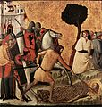 Giovanni Baronzio - Scenes from the Life of St Colomba (Beheading of St Colomba) - WGA23901.jpg