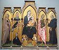 Giovanni di paolo, madonna col bambino e santi, 1454.JPG