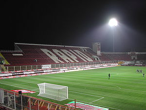 FC Rapid București - The second stand