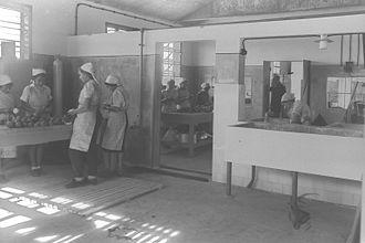 Givat Brenner - Food canning factory, Givat Brenner, 1939