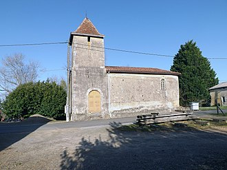 Castel-Sarrazin - Image: Gleisa Sarrasins borg vielh