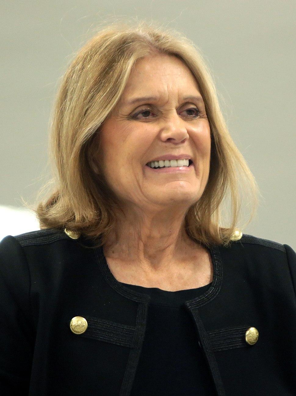 Gloria Steinem (29459760190) (cropped)