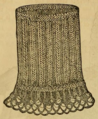 Godey's Lady's Book (1861) - KNITTED CUFF IN BRIOCHE.png