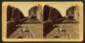 Golden Gate, entrance to picturesque ravine of golden rocks - Yellowstone Park, U.S.A, by Underwood & Underwood 4.png