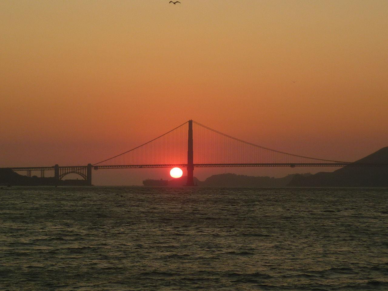 File Golden Gate Bridge Sunset 2 Jpg Wikimedia Commons