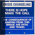 Golden Gate Bridge suicide prevention sign.jpg