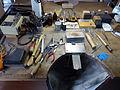 Goldschmiedewerkstatt, Werkbrett.jpg