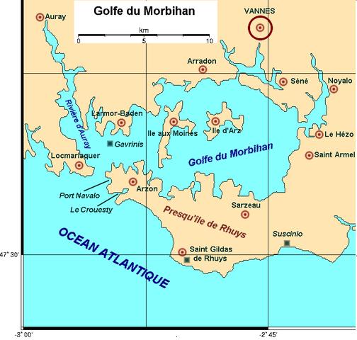 Carte Du Morbihan Ville Mauron
