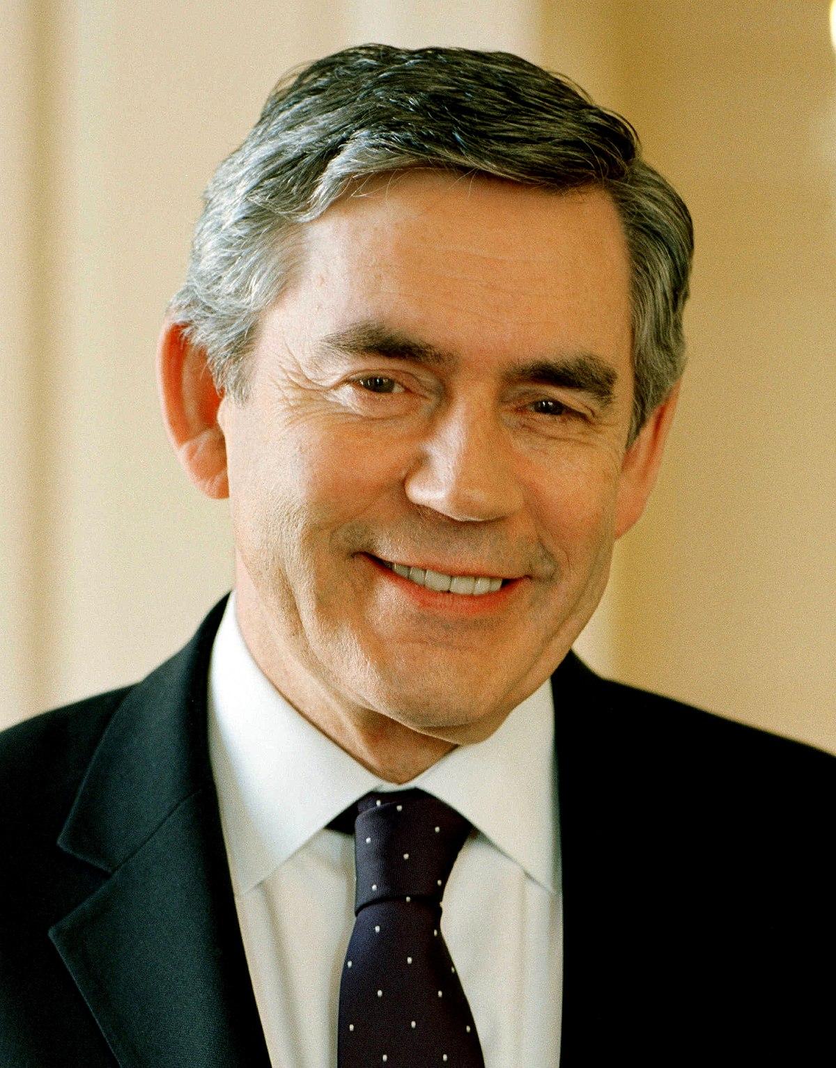 Gordon Brown - Wikipedia
