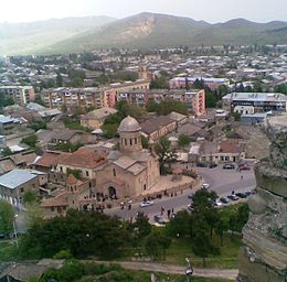 Gori cathedral (view from the Gori Fortress) (B).jpg