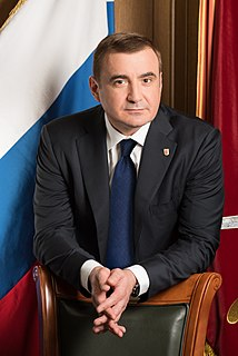 Alexey Dyumin Russian politician and military officer