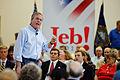 Governor of Florida Jeb Bush at TurboCam, Barrington, NH on August 20th by Michael Vadon.jpg