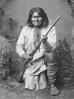 Geronimo, 1887.