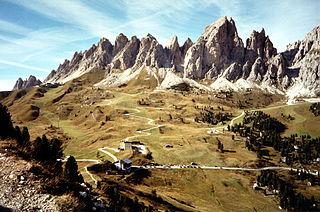 Pizes de Cir Mountain range South Tyrol, Italy