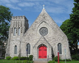 Grace Episcopal Church (Syracuse, New York) - Image: Grace Episcopal Syracuse 2015 05 17