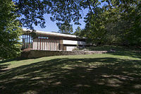 Grant Home Cedar Rapids Iowa (Frank Lloyd Wright) NW View.jpg