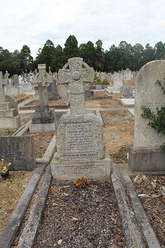 Kathleen Lynn - Grave of Kathleen Lynn (1874-1955), Deansgrange cemetery, Co. Dublin.