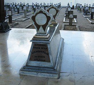Oerip Soemohardjo - Oerip's grave in Yogyakarta