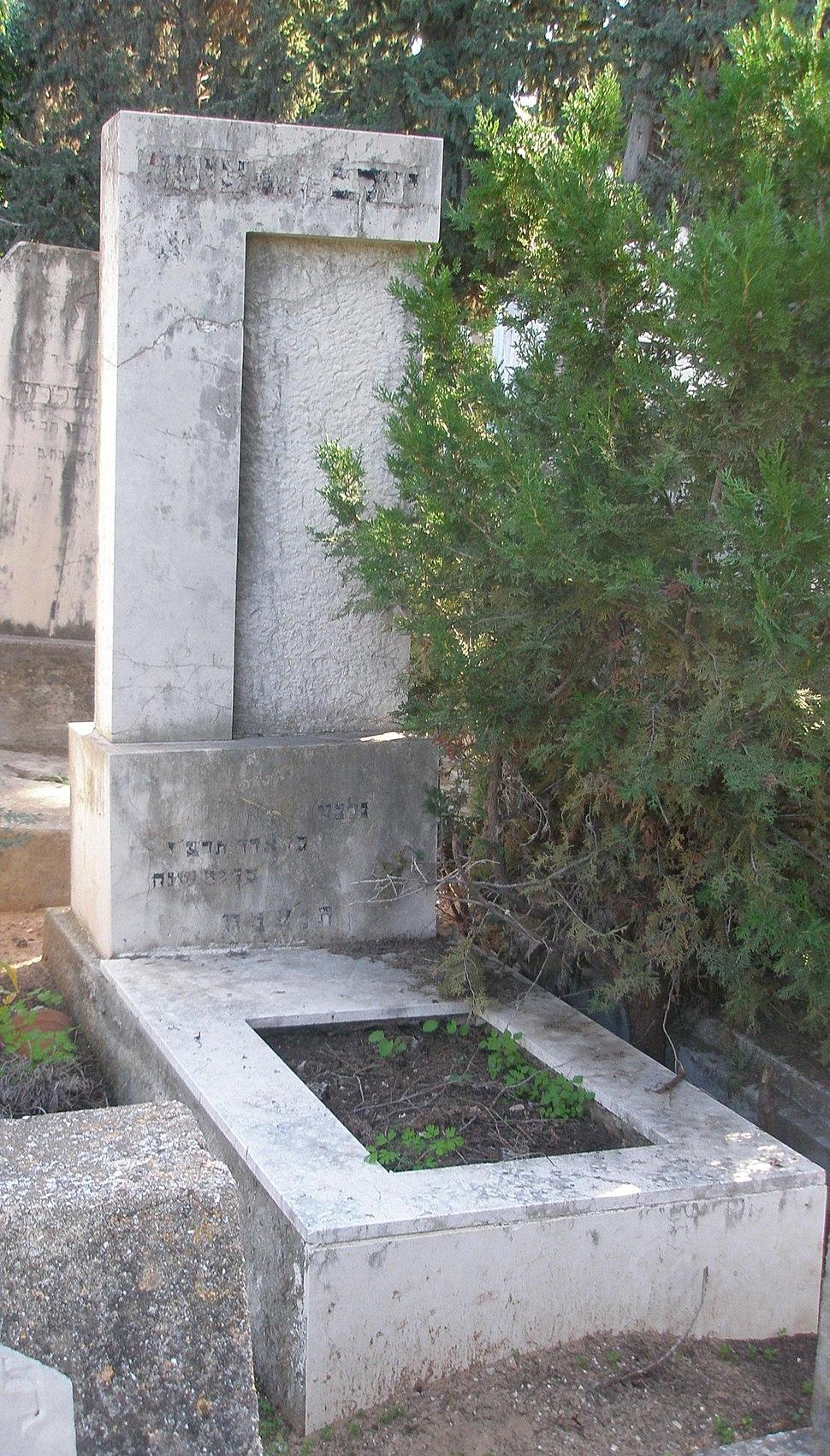 Grave of Yaakov Zwanger