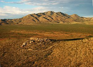 Peloncillo Mountains (Hidalgo County) - Image: Gray Mountain