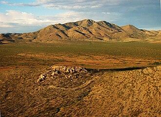 Peloncillo Mountains (Hidalgo County) - Image: Gray Mountain