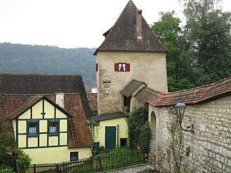 Greding - The town wall