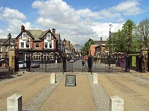 Greenwich Park - Greenwich Park gates
