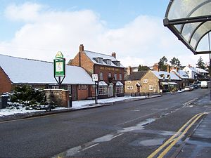 Groby - Image: Grobyvillagestamford arms
