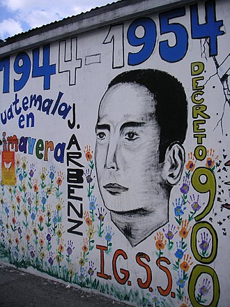 History of Latin America - A mural celebrating Jacobo Árbenz Guzmán and the Guatemalan Revolution
