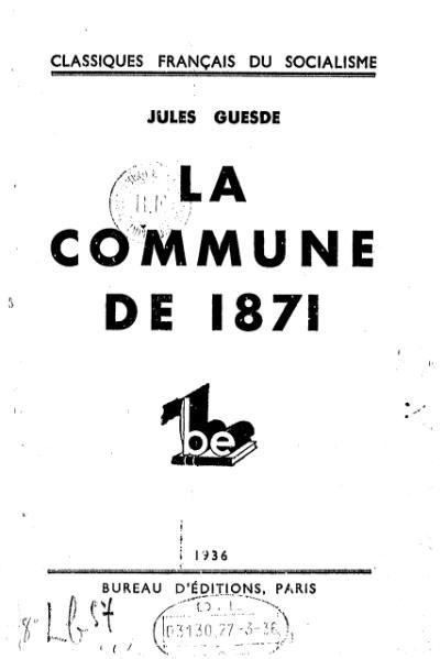 File:Guesde - La Commune de 1871.djvu