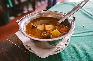 Gulyásleves Hungarian soup