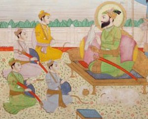 Ajit Singh (Sikhism) - Guru Gobind Singh with His four Sons.