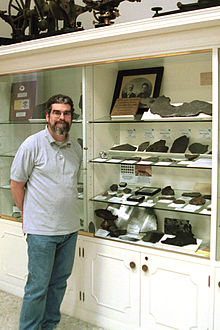 Guy Consolmagno - Vatican Meteorite collection.jpg