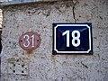 Háje, Mirošovská 18, domovní čísla.jpg
