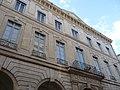 Hôtel de Fourques (Montpeller) - Façana principal (esquerra).jpg