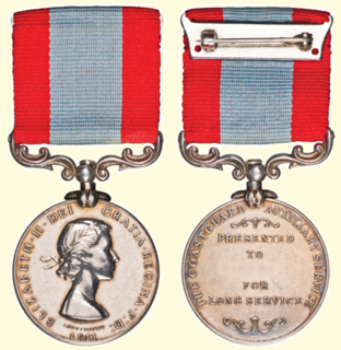 H.M. Coastguard Long Service and Good Conduct Medal British long service award