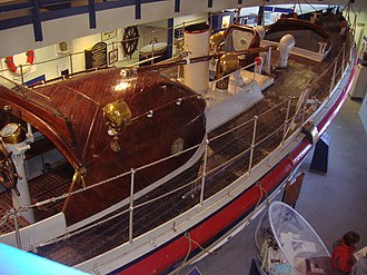 RNLB H F Bailey (ON 777) - HF Bailey in Cromer Henry Blogg Museum