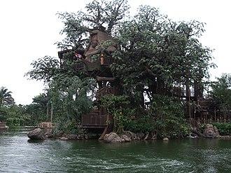 Tarzan's Treehouse - Tarzan's Treehouse at Hong Kong Disneyland