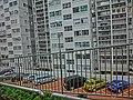 HK 北角半山 North Point Mid-Levels 雲景道 69-75 Cloud View Road 摩天大廈 Skycraper outdoor carpark Apr-2014.JPG