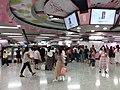 HK CWB 銅鑼灣站 Causeway Bay MTR Station interior May 2019 SSG 07.jpg