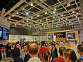 HK HKCEC Wan Chai 蘇富比 Sotheby's Preview 拍賣 預展 Auction hall ceiling interior visitors Oct-2013.JPG