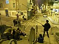 HK Sheung Wan night Tai Ping Shan Street 外影 Outing Vediorecording course Location shooting.JPG