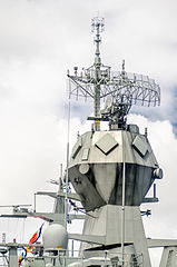 HMAS Perth (FFH 157) CEAFAR phased array radars.jpg