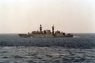 HMS Brazen (F91) - Image: HMS Brazen F91